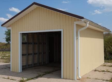 Гараж готовый постройка и ремонт гаража